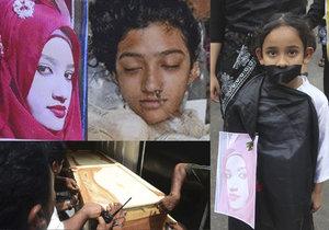 Dívku zaživa upálili na příkaz ředitele školy! Sexuálně mě zneužíval, řekla před smrtí