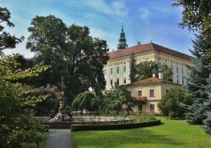 Zámek Kroměříž je i se svými romantickými zahradami na seznamu světového dědictví UNESCO
