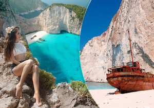 Nejúžasnější místo Řecka: Pláž na ostrově Zakynthos skrývala poklad!