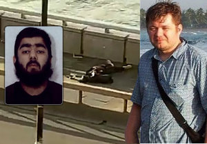 Tohle je hrdina Londýna: Lukáš (38) se bil s teroristou na život a na smrt, ostatní zatím utíkali
