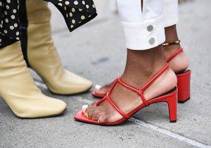 Jaké boty se budou nosit na jaře?