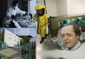 Stát do boje s koronavirem povolává tajnou nemocnici v Těchoníně: Sloužil tu i Brůna ze Studny!
