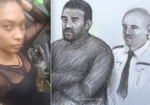 Žárlivý exmilenec ubodal těhotnou poté, co ho opustila: Zasadil jí 21 ran a zabil i miminko