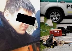 Pomsta za vraha Ivana (†22): Škole ve Vrútkách vyhrožuje anonym a slibuje vendetu střelnou zbraní!