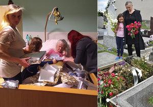 Vlasta z Karviné chtěla do péče nesvéprávnou maminku, úřady to nedovolily: Stařenka zemřela