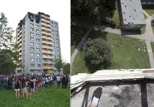 Unikátní fotografie z bytu zkázy svědčí o hrůze, kterou oběti prožily: Tudy 4 lidé unikli smrti!