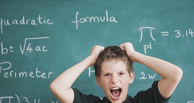 Příčiny školních neúspěchů vašeho dítěte je potřeba řešit včas