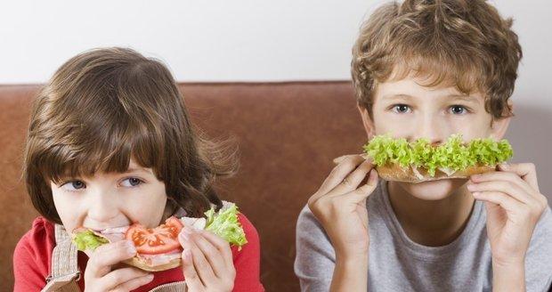Třetina českých dětí má problémy s váhou