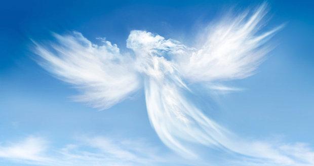 Andělé strážní nad námi drží ochrannou ruku.