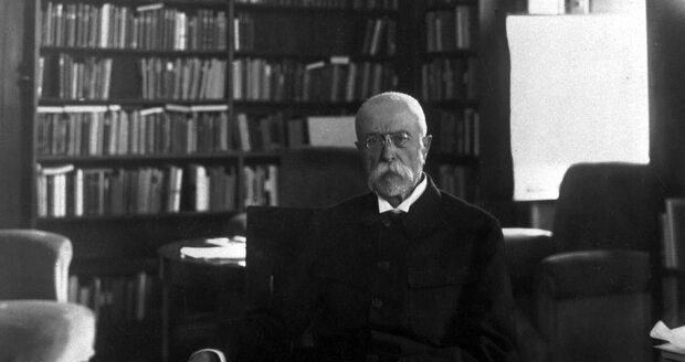 První a nejslavnější československý prezident Tomáš Garrigue Masaryk