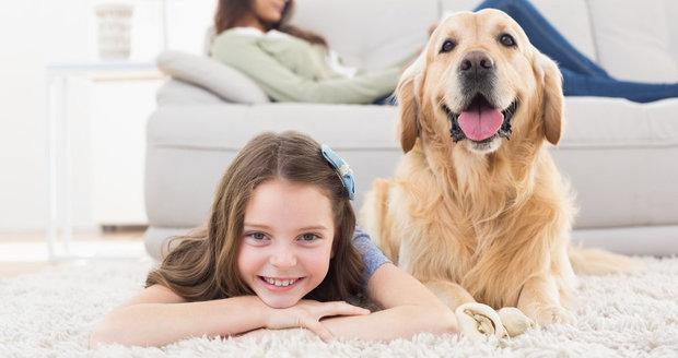 Děti zvířata milují a podle odborníků je jejich společné soužití prospěšné pro psychický vývoj