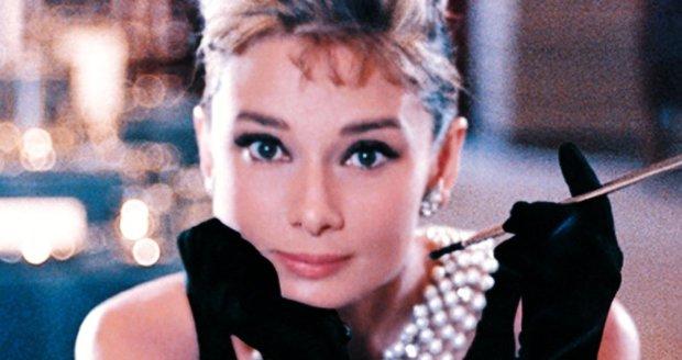 Audrey Hepburn ve filmu Snídaně u Tiffanyho