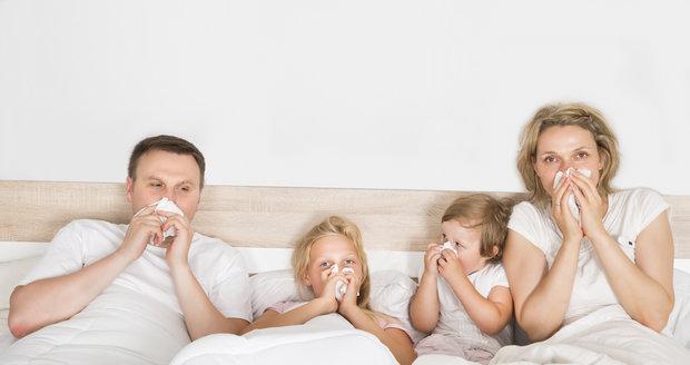 Co dělat, aby nás nachlazení skolila co nejméně?