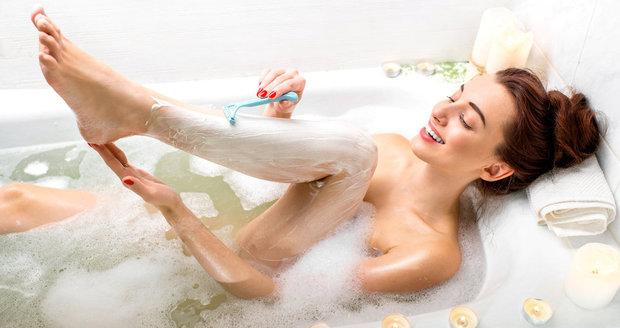 Nejčastější chyby při holení nohou. Děláte je také?