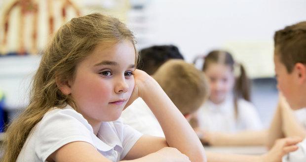 Někdy může být dítě jen rozčarované z toho, že si školu představovalo jinak