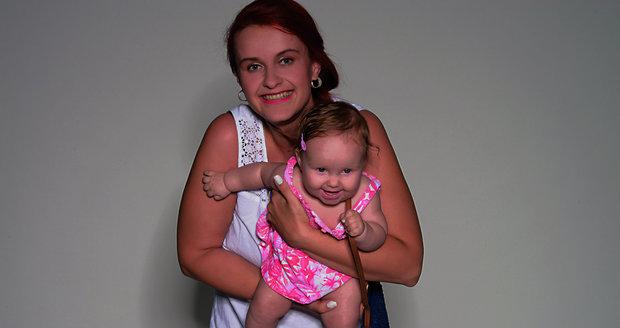 Fotografie loňské vítězky s maminkou