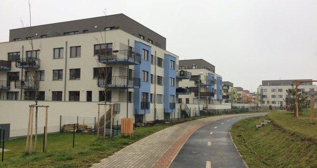 Novostavby v developerském projektu Nové Chabry