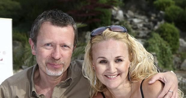 Linda Finková s přítelem
