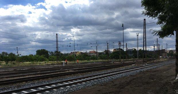 Takto v současnosti vypadá nádraží v Bubnech.
