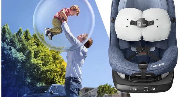 Dětská autosedačka s vlastními airbagy