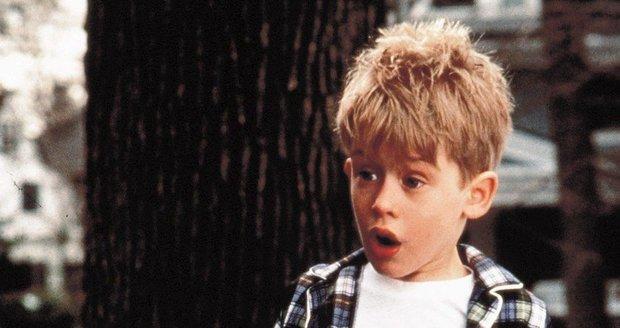 Macaulay Culkin jako Kevin v Sám doma