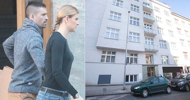 Tomáš Plekanec a Lucie Šafářová si v Praze zařizují nové hnízdečko lásky.