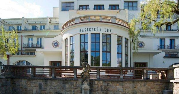 Masarykův dům v lázních Velichovky.