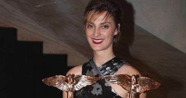 Bára Poláková si odnesla dvě ceny Anděl.