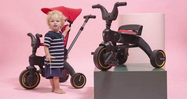 Tipy, jak naučit dítě jezdit na kole. Pomůže odrážedlo a tříkolka