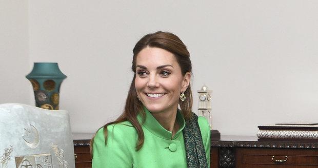 Princ William a Kate Middletonová v Pákistánu