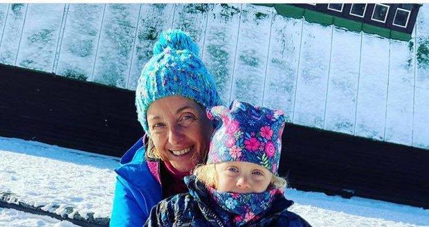 Veronika Žilková s vnučkou Miou