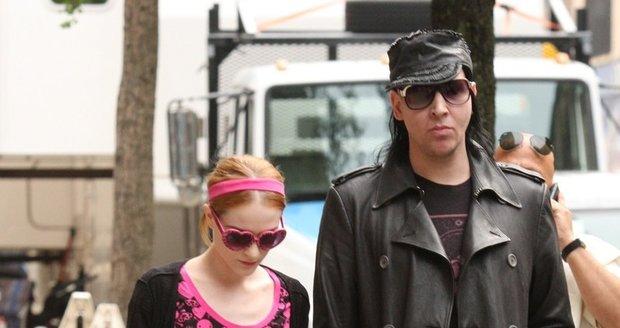 Evan Rachel Wood s Marilynem Mansonem