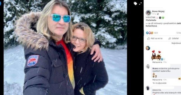 Braňo Mojsej má už 8 let novou ženu.