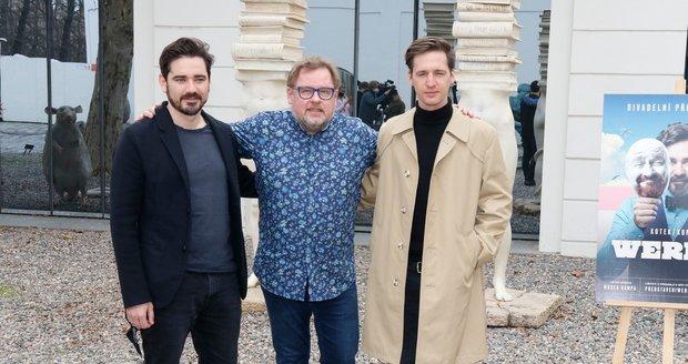 Vojta Kotek, Václav Kopta a Jan Nedbal budou hrát v představení Werich