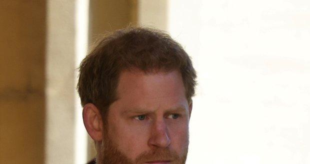 Pohřeb prince Philipa: princ Harry