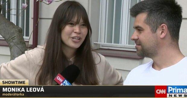 Monika Leová a její manžel Martin v pořadu Showtime