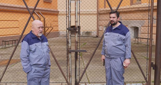 Ota Jirák ve věznici na Borech natáčel Bastardy 4.