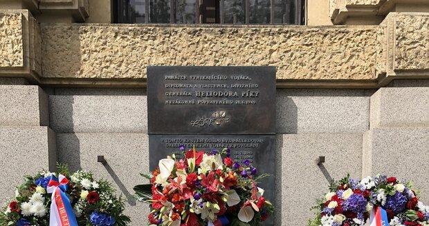 Pieta k uctění památky generála Heliodora Píky, který byl zavražděn ve vykonstruovaném procesu 21. června 1949