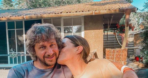 Lucie Křížková s manželem Davidem Křížkem