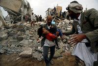 Arabové omylem bombardovali domy s dětmi. Šlo prý o technickou chybu