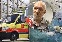 Sportovec Miroslav (62) se podruhé narodil: Při běhu se mu zastavilo srdce! Zachránili ho v IKEM