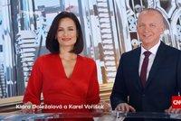 Pozdvižení na Primě! Karel Voříšek (57) má covid, Doležalová bude moderovat sama!