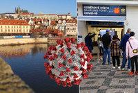 Koronavirus v Praze: 1209 případů za pátek, v hlavním městě je nejvíce nakažených od začátku epidemie