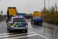 Mezi Blanskem a Ráječkem auto srazilo cyklistu: Muž podlehl vážným zraněním