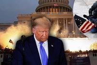 Stopy útoku na Kapitol vedou k Trumpovým blízkým: FBI zatkla vysoce postaveného úředníka