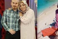 Muž pózoval na útesu s těhotnou manželkou, než ji prý svrhl dolů, aby získal peníze z pojistky