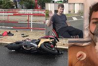 Sbírka pro motorkáře Filipa (23). V Krči srazil chodkyni, za nehodu nemohl, skončil na vozíku. Chci žít naplno, říká