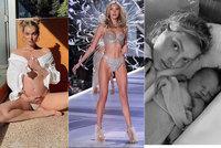 Andílek Victoria's Secret má dceru: Hororový porod!