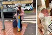 Maminka (27) zažila dramatický porod: Syna přivedla na svět sama na mraze