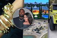 Nejdražší rozvod v historii? Kim Kardashianová a Kanye West budou dělit miliardový majetek!